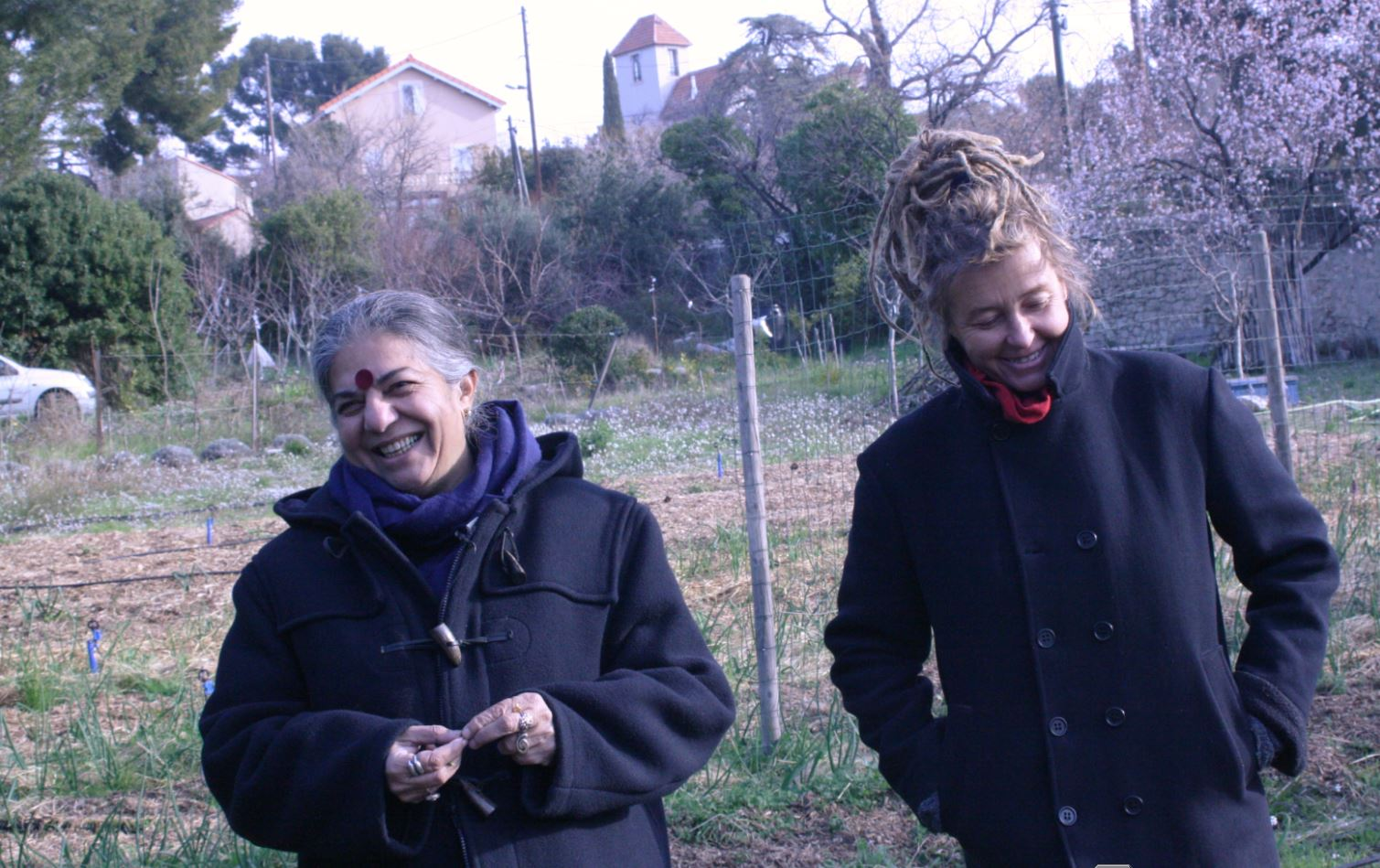 Vandana shiva marseille du th tre au jardin sans transition - Kiosque famille salon de provence ...