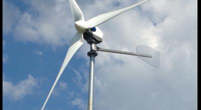 Éolienne individuelle commercialisée par Diwatt - DR