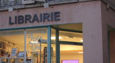 Photo Elodie Horn. L'ancienne pharmacie a entièrement été retapée par les bénévoles et s'articule désormais entre un espace d'exposition et la librairie.