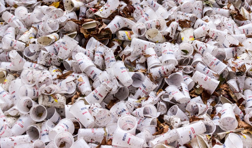 La loi relative à la transition énergétique pour la croissance verte, complétée par la loi EGAlim, interdit la mise à disposition d'objets plastique comme la vaisselle je-table, saladiers, pots à glace à partir de 2020 … sauf si ceux-ci sont compostables à domicile, et tout ou en partie biosourcés.(crédit : Pixabay)