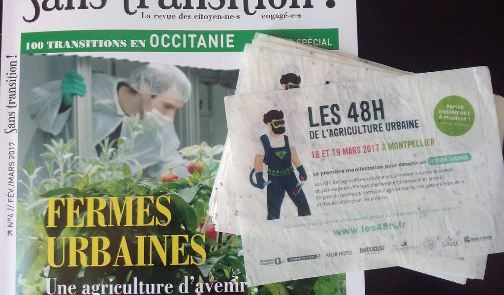 Sans Transition ! Occitanie est partenaire des 48 heures de l'agriculture urbaine à Montpellier