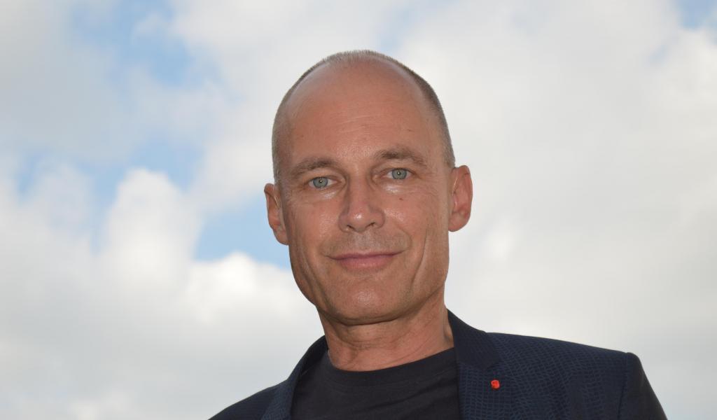 Le Suisse Bertrand Piccard donnait une conférence à Cavaillon (84), vendredi dernier, à l'occasion de l'inauguration de l'extension des locaux de l'entreprise Raiponce, distributeur de produits bio - JD / LMDP