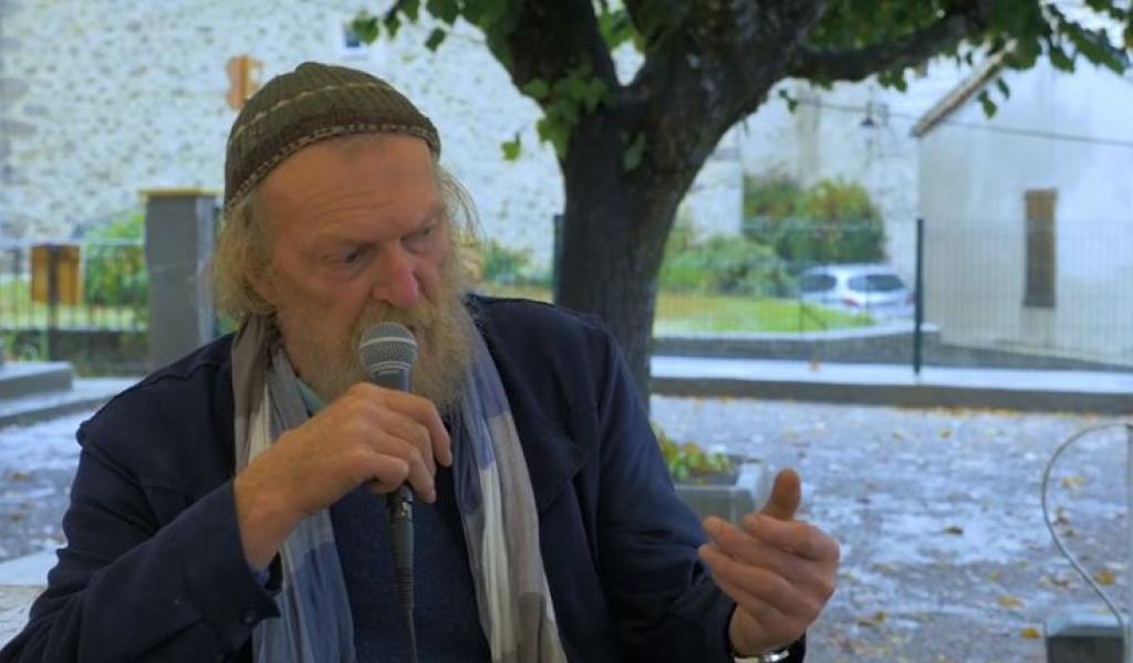 André Bucher présente son nouveau roman, Un court instant de grâce (octobre 2018 – Le Mot et le Reste) - DR