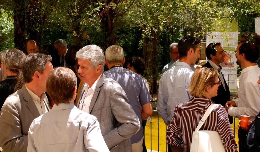 Les participants de cette journée Excellence Bio, réunis. Crédit photo : Amaëlle Olivier