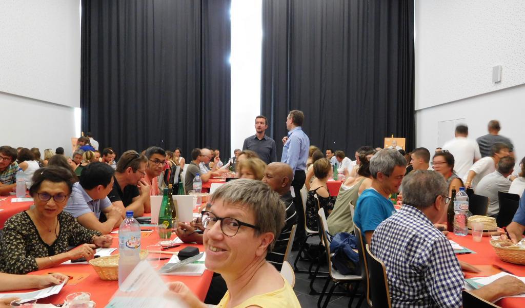 Rencontres territoriales sur l'alimentation à Montpellier juillet 2018- crédit Célia Pousset
