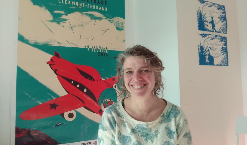 Virginie Guilminot, gérante du studio d'animation Les Fées Spéciales - FD