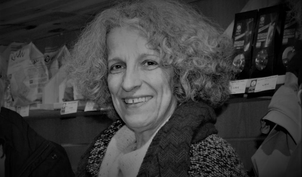Geneviève Azam au printemps 2016 à Vaison-la-Romaine (84) - LMDP