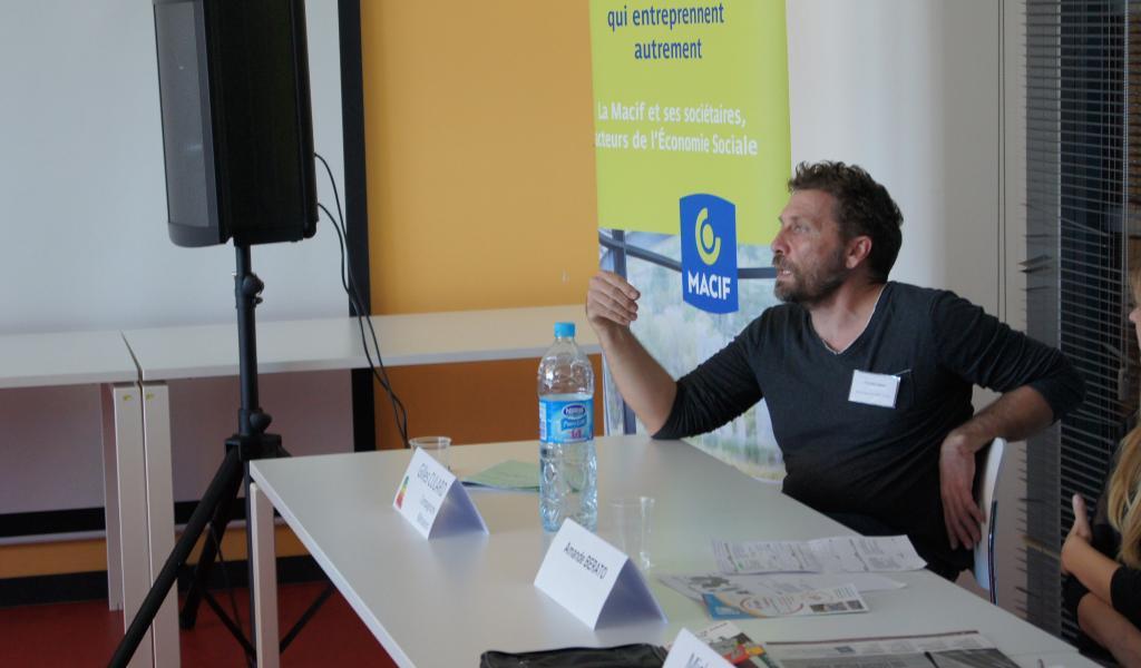 Gilles Cullard, coordinateurs des Compagnons bâtisseurs de Languedoc-Roussillon - Crédits : FD