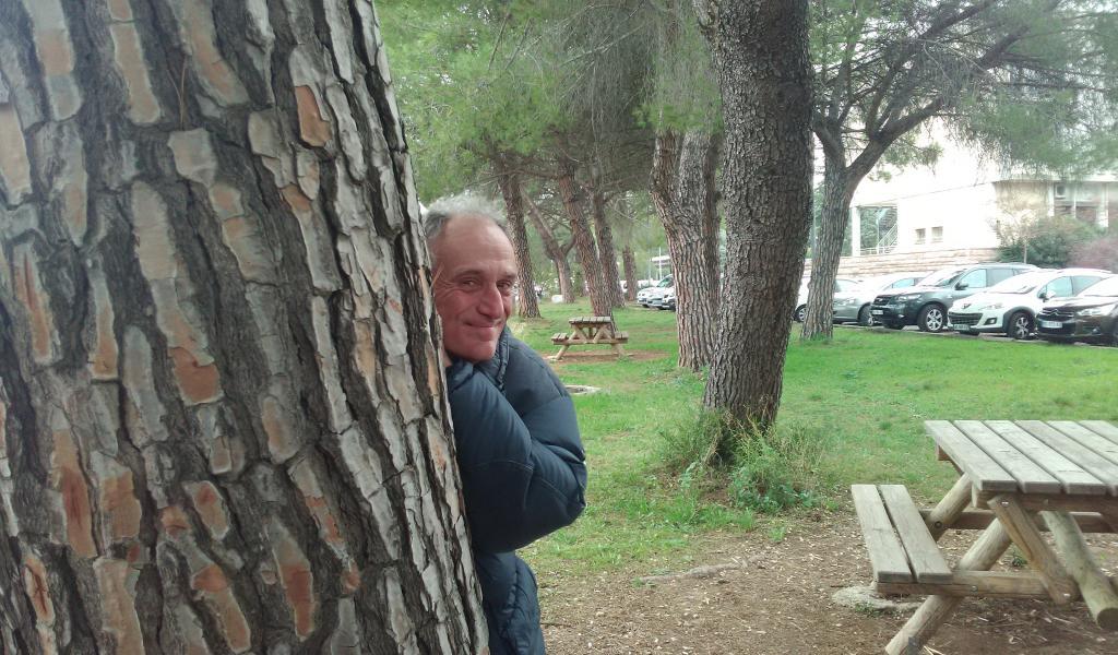 Denis Cheissoux à remis les prix du salon de l'écologie, à Montpellier, le 4 novembre dernier