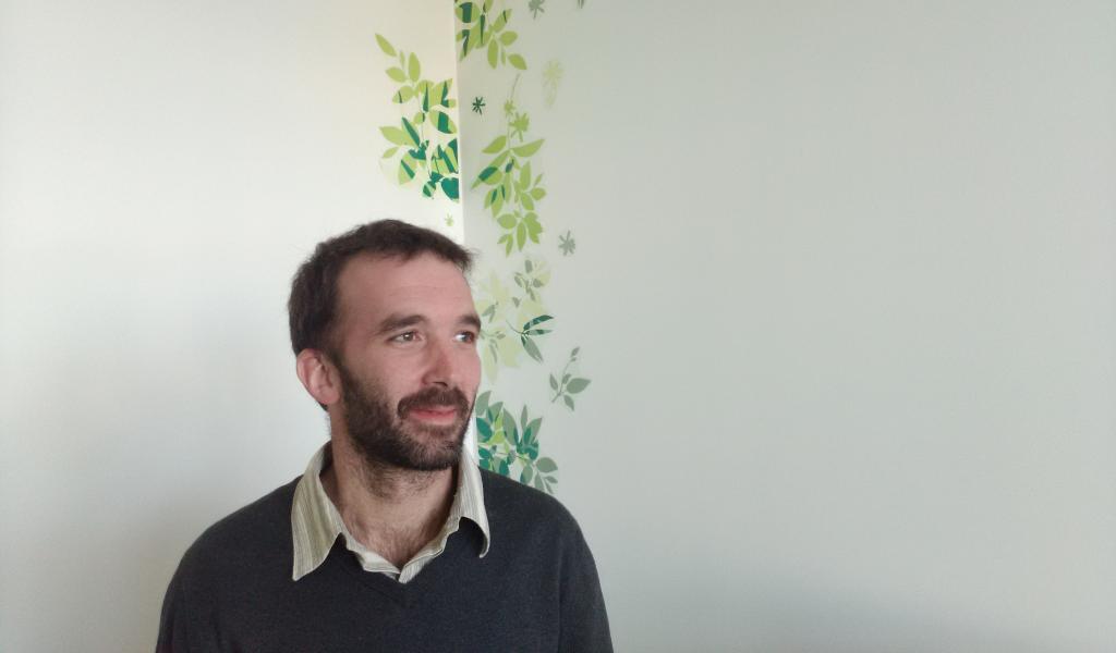 Joseph Le Blanc, gérant de Terra Coopa - FD /LMDP
