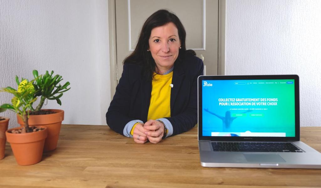 Marie Monziols, co-fondatrice de Prizle - DR