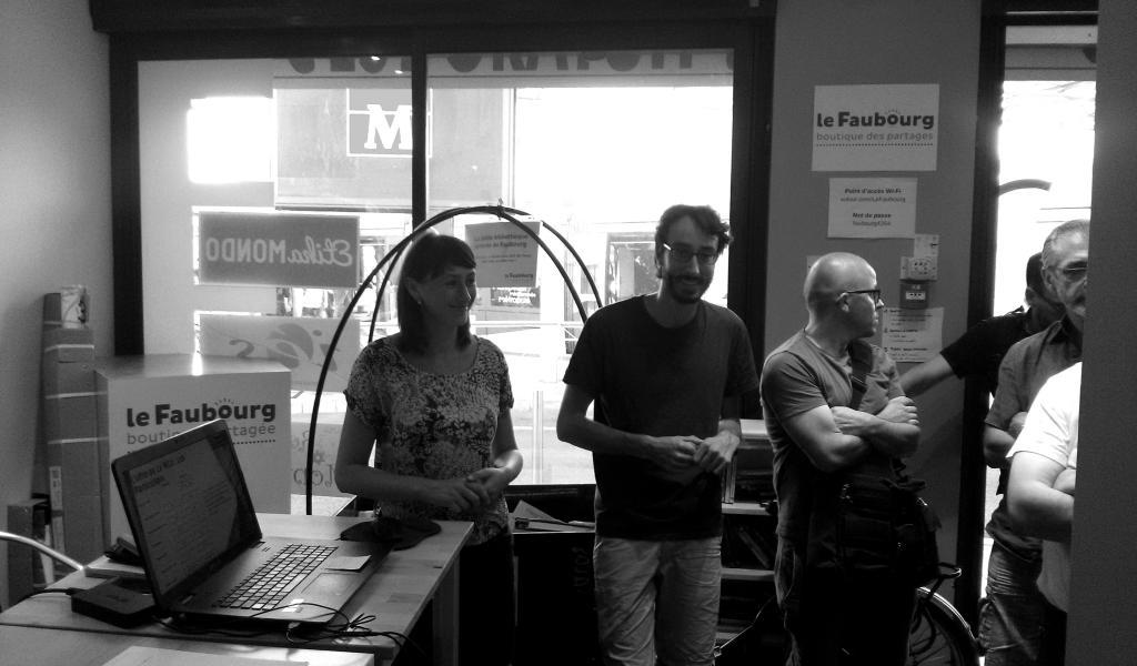 Olivia Liesse et Yoann Lapeyronie, fondateurs de la Menuiserie collaborative de Montpellier - FD