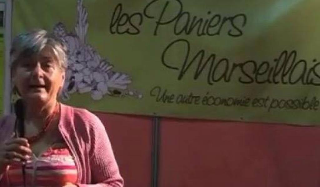 Monique Diano, fondatrice des Paniers Marseillais, le premier réseau d'Amap (Association de Maintien de l'Agriculture Paysanne) biologique de Marseille, est décédée, dans la nuit du 14 au 15 avril derniers - DR