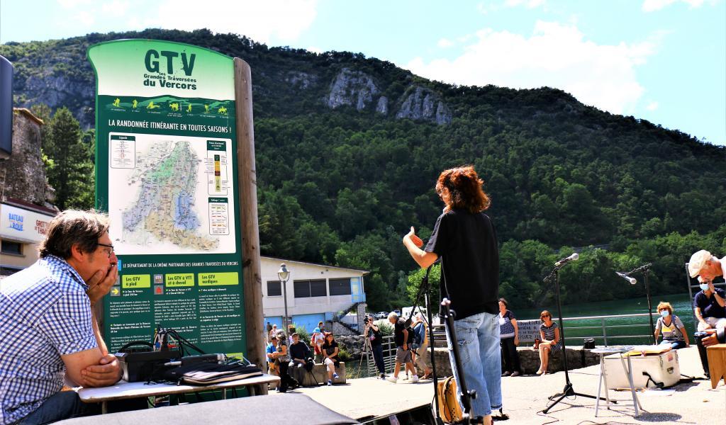 Le Mont Vanille dans la Drôme