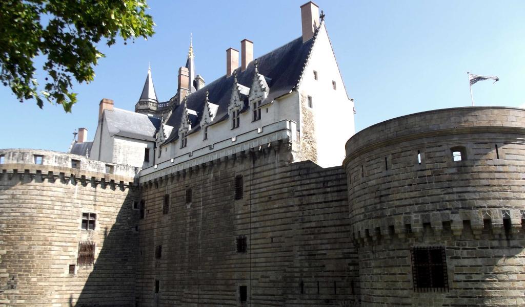 Le château des ducs de Bretagne, à Nantes. - Crédit : F.Delotte