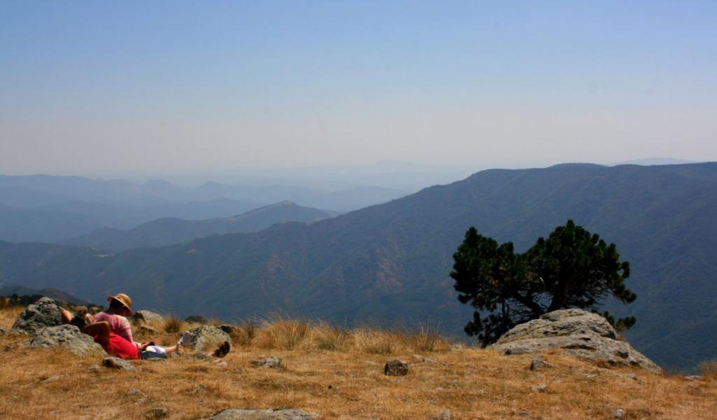 L'été, c'est aussi l'occasion de ralentir. De prendre le temps de rêver et de contempler. Ici, le sommet du Mont-Aigoual, dans les Cévennes © F. Delotte