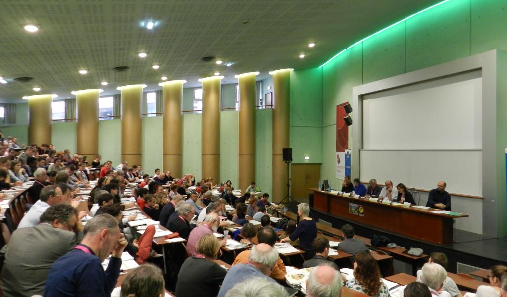 Une journée sur le thème de la participation citoyenne était organisée à Sciences Po Rennes, le 1er octobre dernier. Crédits : FS