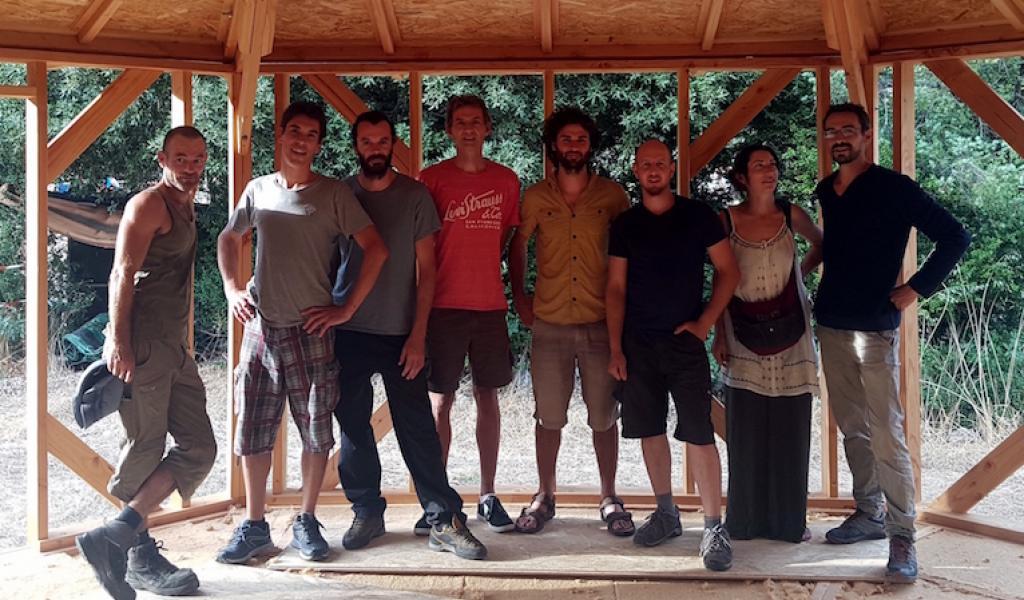 Les artisans du réseaux Construire Sain en Coeur d'Hérault sont animés par une volonté commune : bâtir dans le respect de l'humain, de leur territoire et de l'environnement - DR