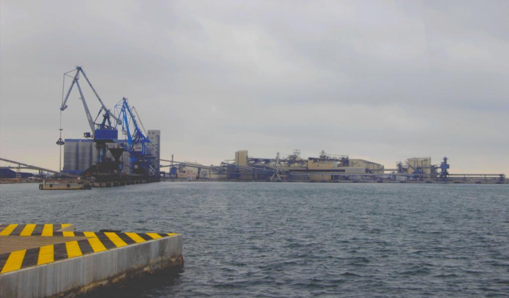 Vue du port de commerce de Sète - Crédit : Laurie Abadie