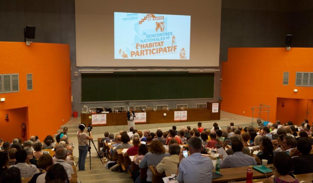 Les troisièmes Rencontres nationales de l'Habitat Participatif ont eut lieu à Nantes, en juillet 2018 - DR