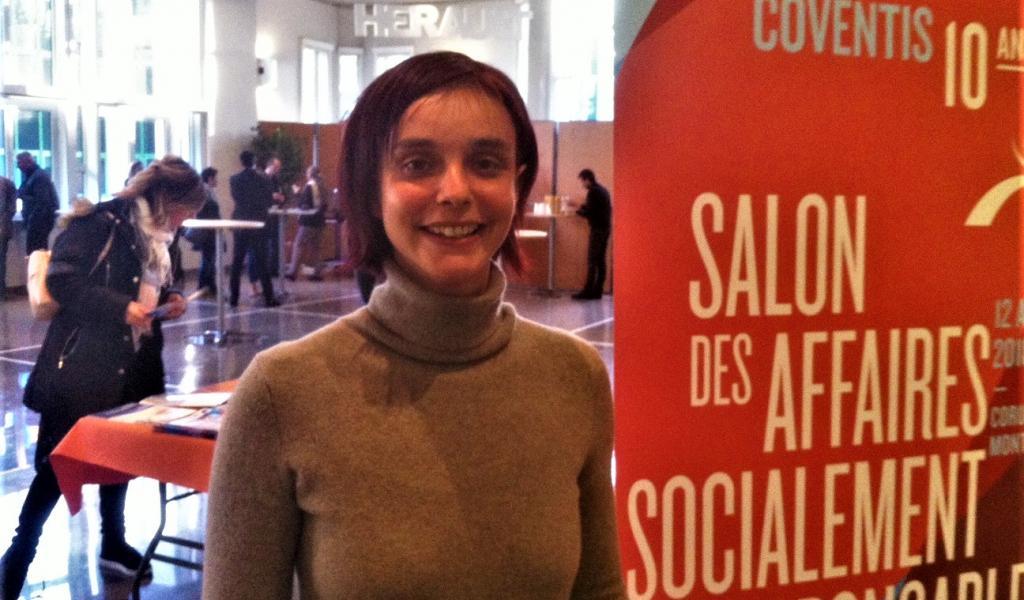 """Leslie Faggiano, de Symbiosphère, entreprise de Haute-Garonne lauréat """"coup de cœur"""" du prix régional ESS d'Occitanie 2017 - JD / LMDP"""