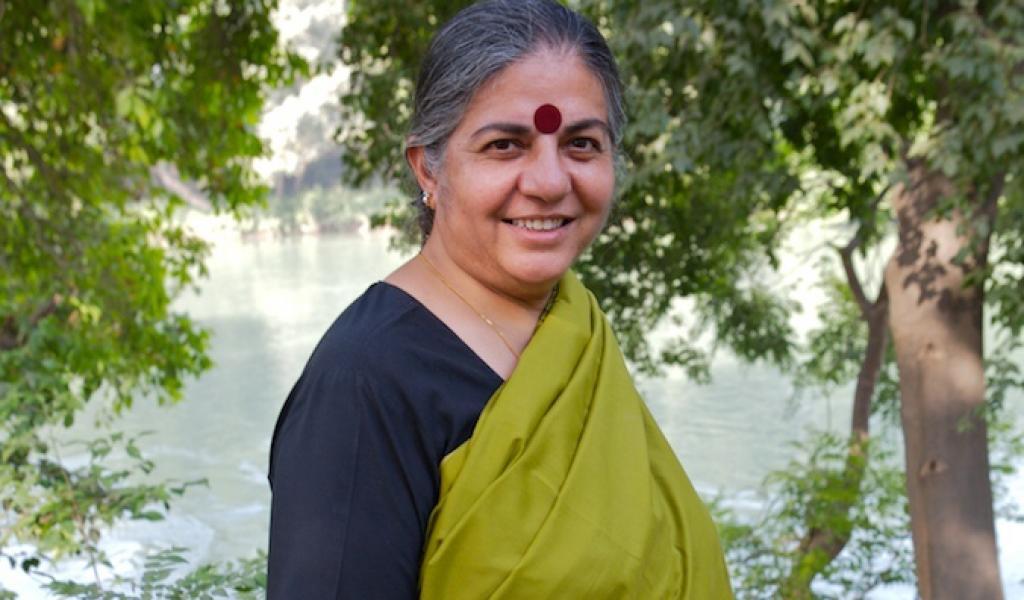 Vandana Shiva (Crédits photos: Lionel Astruc)