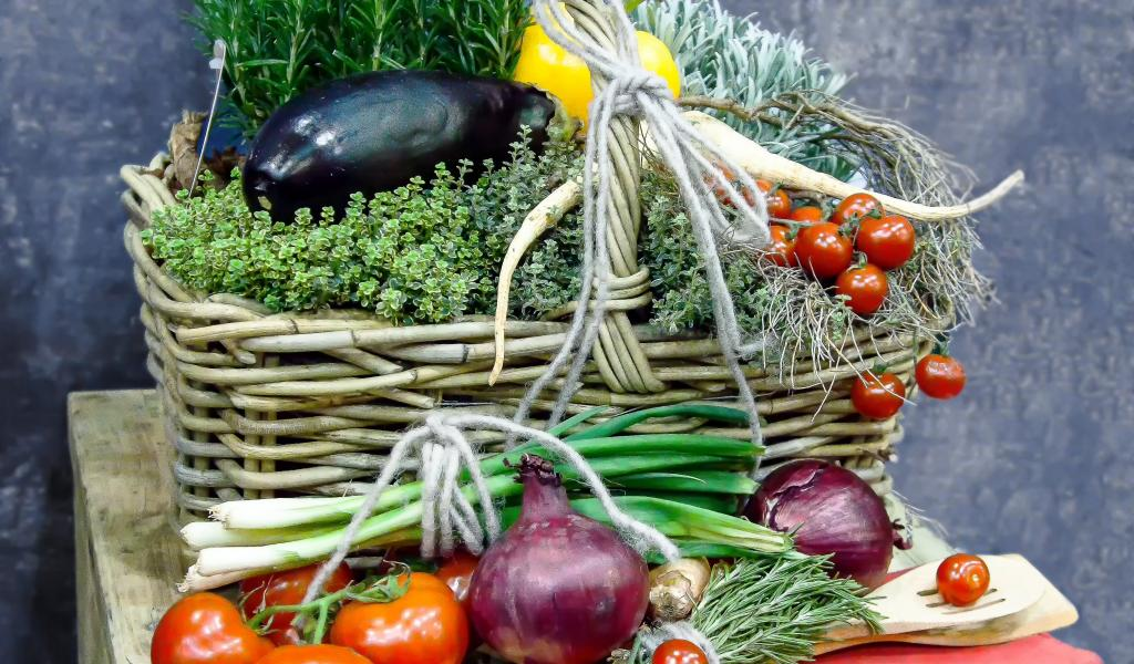 paniers légumes