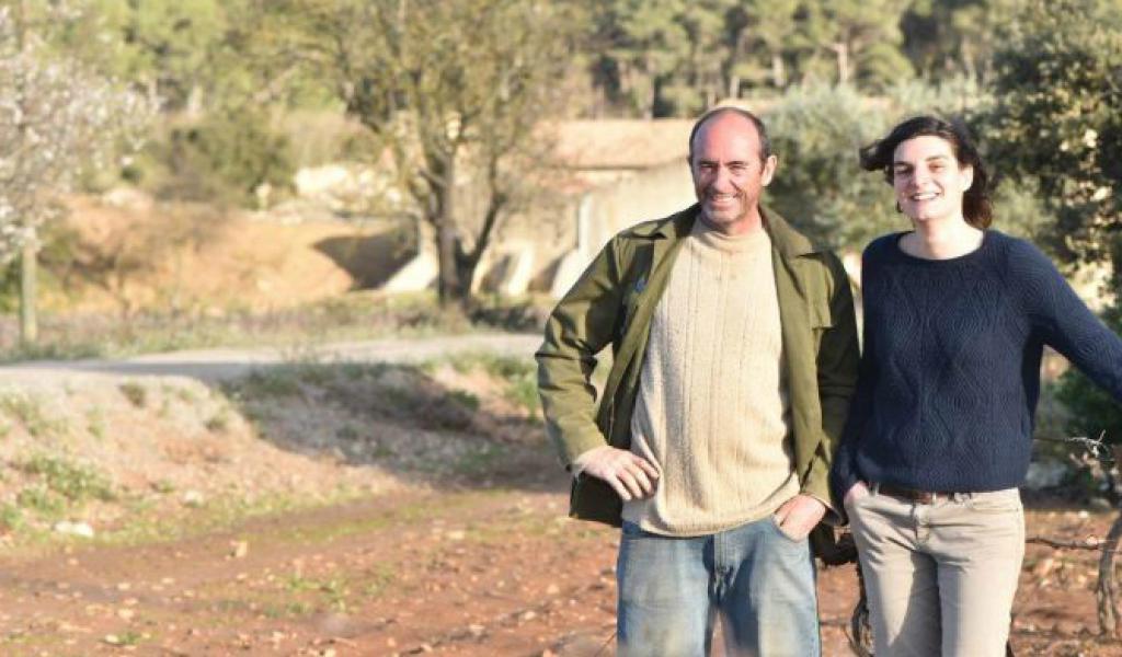 """Pauline Chatin et Jean-Charles Thibault : l'équipe de """"Vigne de Cocagne"""""""