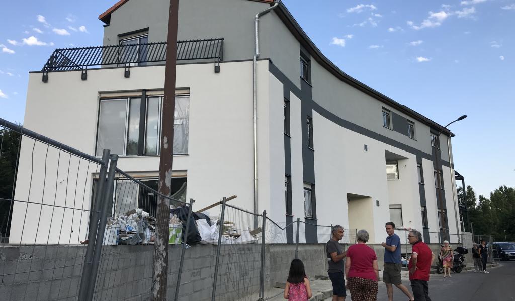 Le Courrier sud  a été construit sur une petite parcelle qualifiée de « délaissée » par le service de l'urbanisme de Toulouse. Crédit : C. Stern