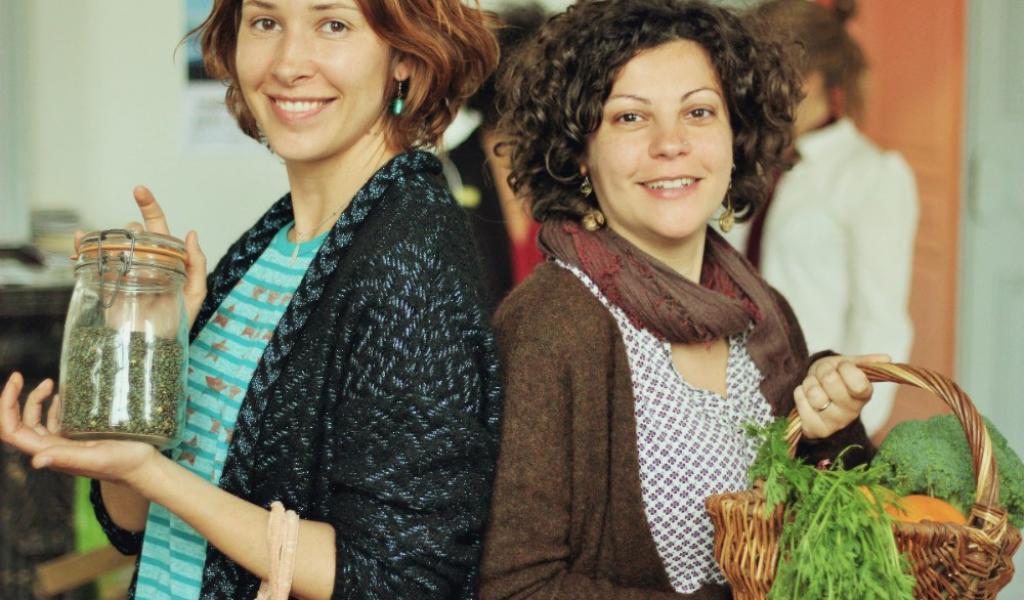 Alexandra et Valentina, créatrices de CityZen Market. Crédit photo : CityZen Market